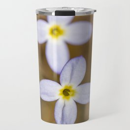 Spring Bluets Travel Mug