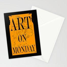 ART ON MONDAY Stationery Cards