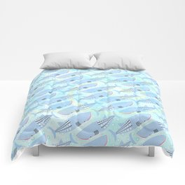 Whale Pattern Comforters