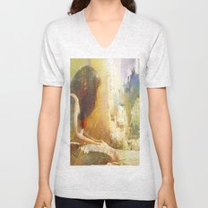 And you are not here with me Unisex V-Neck