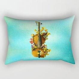 Undying Symphony Rectangular Pillow