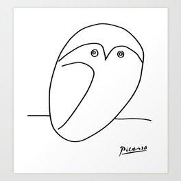 Picasso - Owl Art Print
