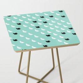 Flock of pigeons Side Table