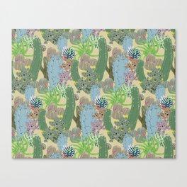 Cactus Patch Canvas Print