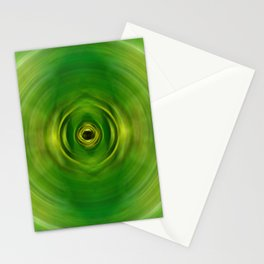 New Growth - Green Art By Sharon Cummings Stationery Cards