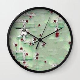 SJ Cummings : 5th Floor -Jade Elite Wall Clock