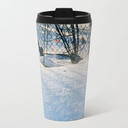 Snow and wind Travel Mug