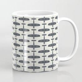 F4U Corsair - Sea Blue on Insignia White Coffee Mug
