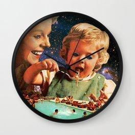 Eat Up Wall Clock