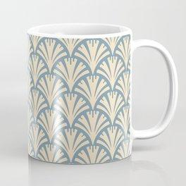 Art Deco Gold Fans Coffee Mug