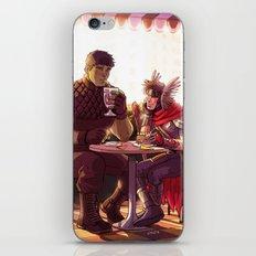 William and Theodore 24 iPhone & iPod Skin