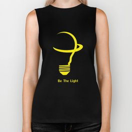 Be The Light Biker Tank