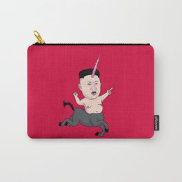 Kim Jong Unicorn Carry-All Pouch