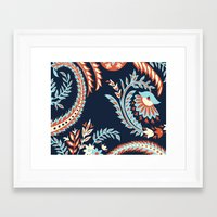 flora Framed Art Prints featuring Flora by Tracie Andrews
