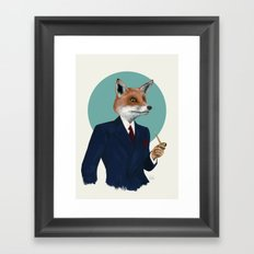 Mr. Fox Framed Art Print
