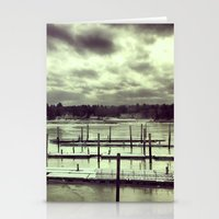 manchester Stationery Cards featuring Manchester by the Sea by Shy Photog
