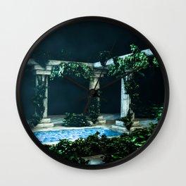 landscape pillar Wall Clock