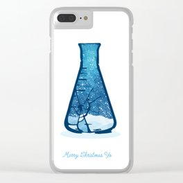 Breaking Bad Christmas Clear iPhone Case
