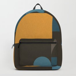 Information & Statement Geometric Backpack