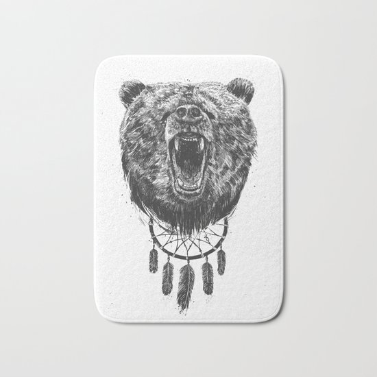 Don't wake the bear Bath Mat