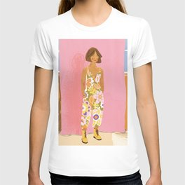 Girl who Loves Jumpsuits T-shirt