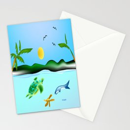 """""""Eco At Play"""" Stationery Cards"""