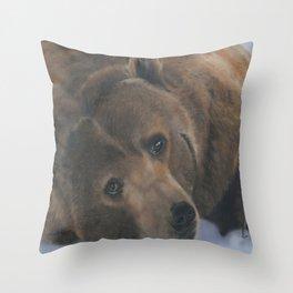 Ursus Major Throw Pillow