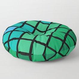 Mermaid Geometric Floor Pillow