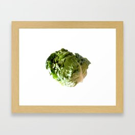 Salad Solo Framed Art Print