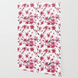 Cherry Blossoms #society6 #buyart Wallpaper