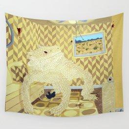 Horned Lizard Wall Tapestry