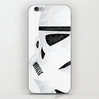 trooper iPhone & iPod Skins featuring Trooper by Charles Dew