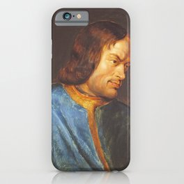 Lorenzo de Medici Rubens, antique fine art painting iPhone Case