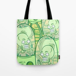 We Come In Peace II The Sequel G Tote Bag