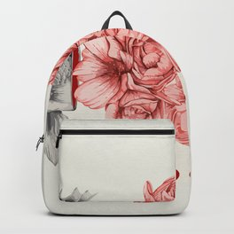 Speechless as a fish Backpack