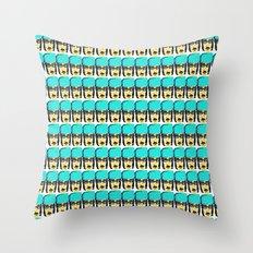 Revolunatic Tiffany Throw Pillow