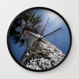 Reaching To The Sun Wall Clock