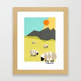 Our land Framed Art Print