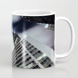 Cityscape I - Contemporary Skyscrapers Minimal Modern Studio Office Art Print Chicago Coffee Mug