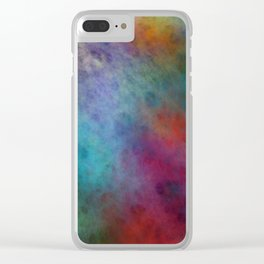 Paintball Clear iPhone Case