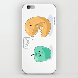 Apples and Oranges iPhone Skin