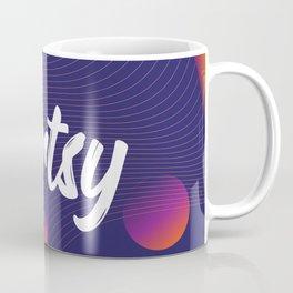 Artsy background psychedelic style Coffee Mug
