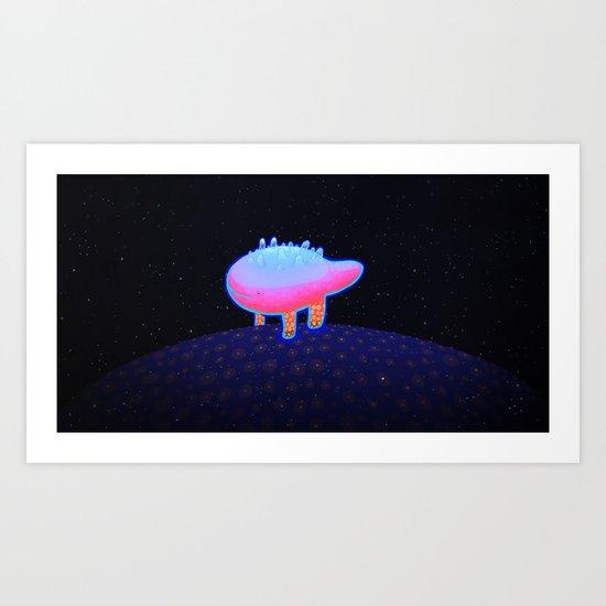 World Beast Art Print