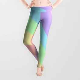 Unicorn Retro Summer Wave #1 #minimal #decor #art #society6 Leggings