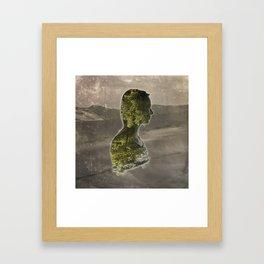 Stuck Framed Art Print