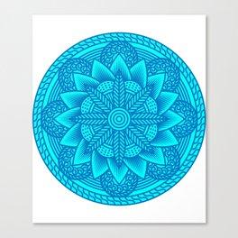 SACRED GEOMETRY Flower Of Life Gift For Yoga Lover Canvas Print