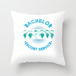 Marriage Bachelor Party Stag Night Bridegroom Groom Bachelor Escort Service Gift Throw Pillow