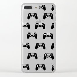 PS4 Controllers Clear iPhone Case