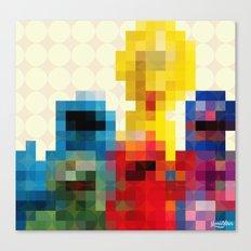 Sesame Canvas Print