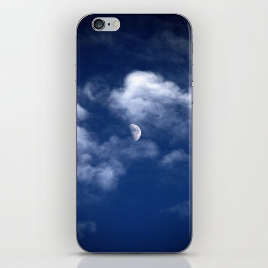 Waxing Gibbous iPhone & iPod Skin